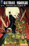 Batman Teenage Mutant Ninja Turtles Adventures Vol 1 1