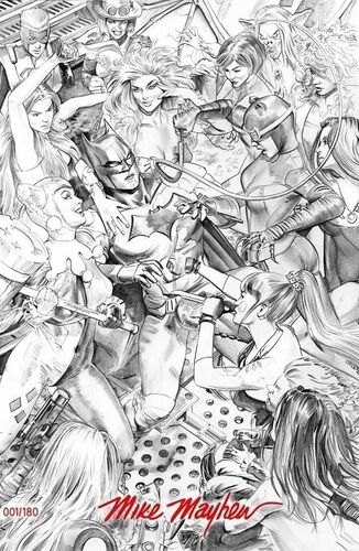 The Comic Mint Exclusive B&W Variant