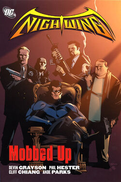 Cover for the Nightwing: Mobbed Up Trade Paperback