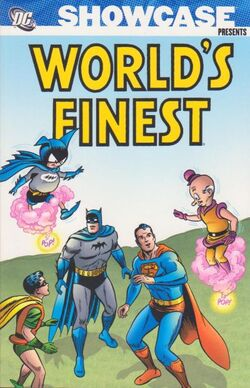 Cover for the Showcase Presents: World's Finest Vol. 2 Trade Paperback