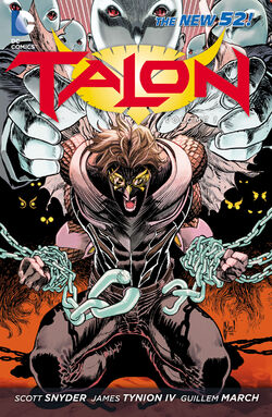 Cover for the Talon: Scourge of the Owls Trade Paperback