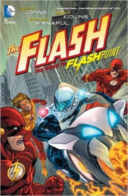 Cover for the The Flash: The Road to Flashpoint Trade Paperback
