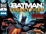 Batman Secret Files Vol 1 3