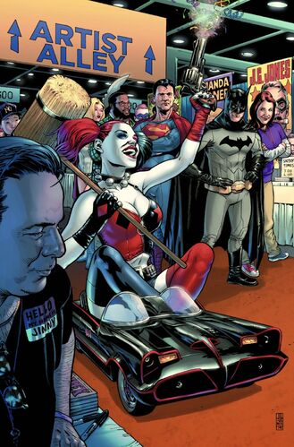 Textless [[Harley Quinn]] Variant