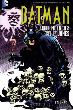 Cover for the Batman by Doug Moench and Kelley Jones Vol. 1 Trade Paperback