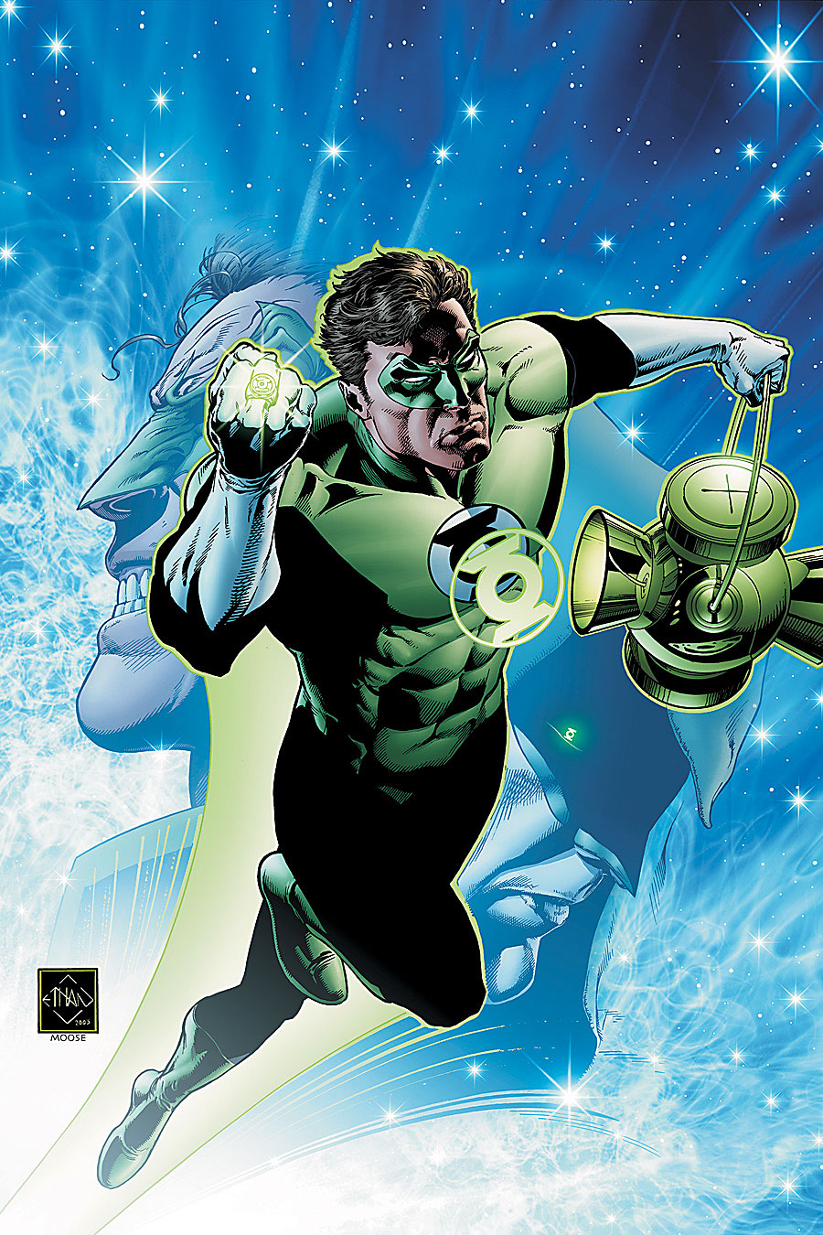 the best attitude 5ae9d 54f6e Hal Jordan (New Earth)