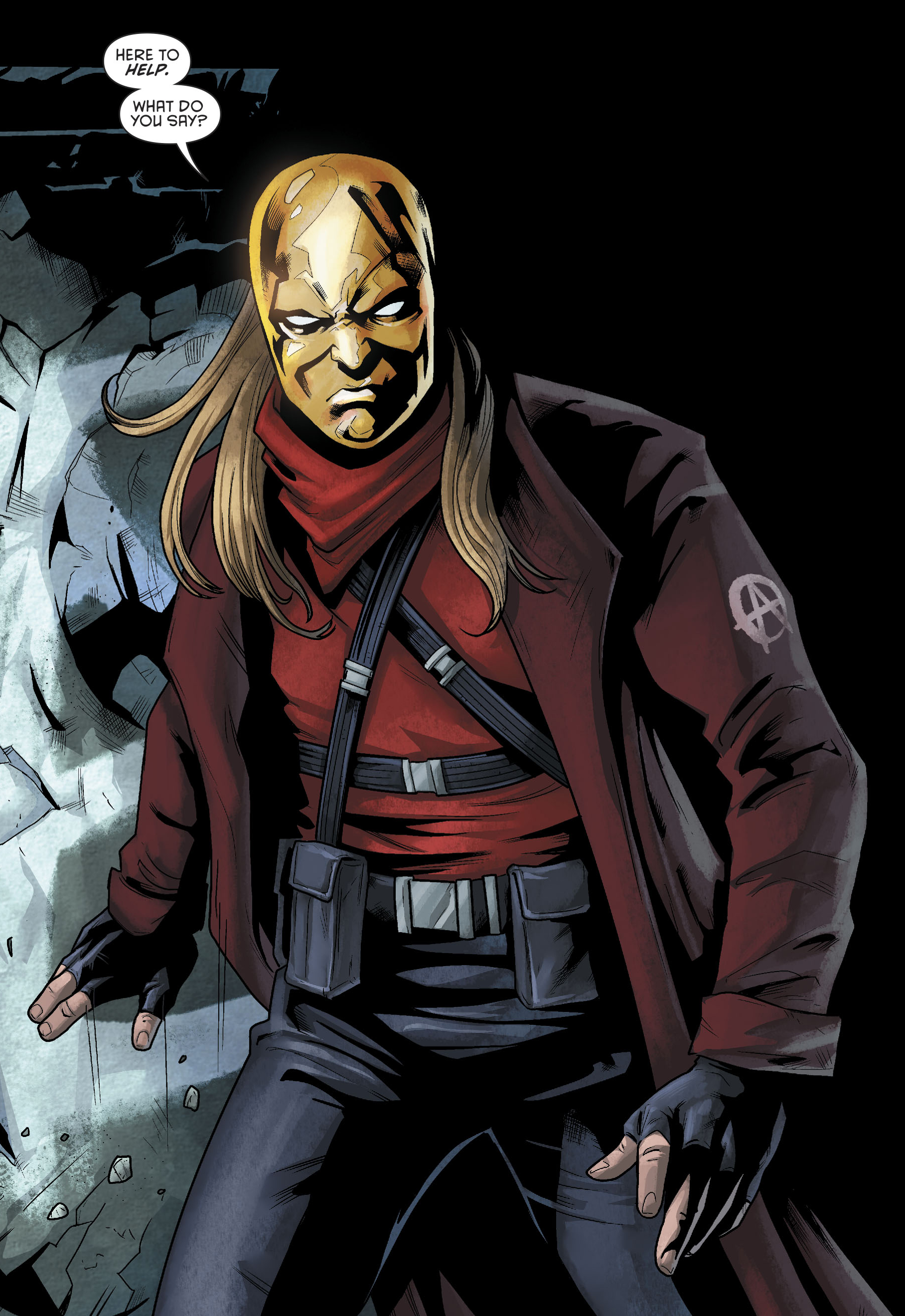 Ishmael (Prime Earth) | DC Database | Fandom