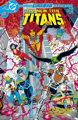 Cover for the The New Teen Titans Vol. 10 Trade Paperback