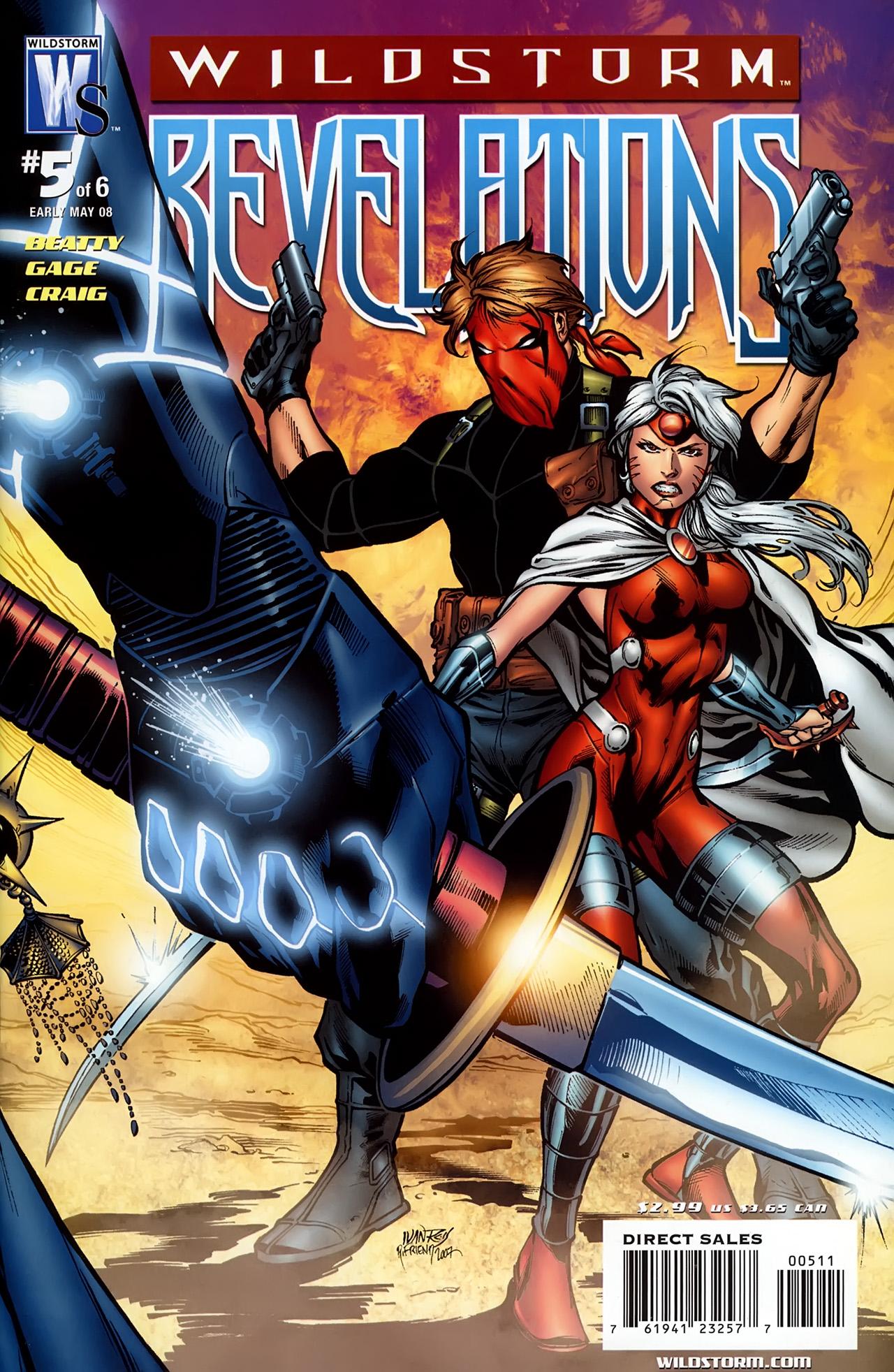 Wildstorm: Revelations Vol 1 5 | DC Database | FANDOM