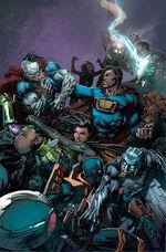 Crime Syndicate vs. Injustice League