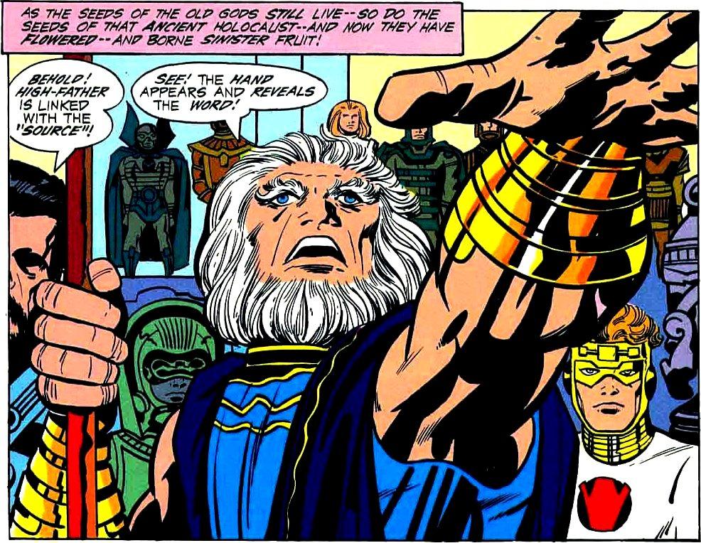 Risultati immagini per Highfather new gods