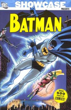 Cover for the Showcase Presents: Batman Vol 1 Trade Paperback