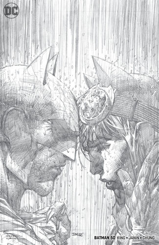 Jim Lee variant cover (pencils)