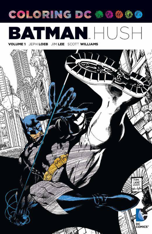 Cover For The Coloring DC Batman