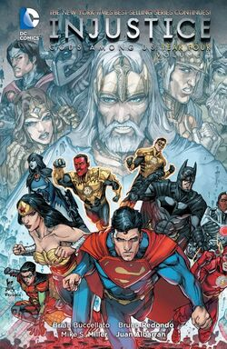 Cover for the Injustice: Gods Among Us: Year Four Vol. 1 Trade Paperback