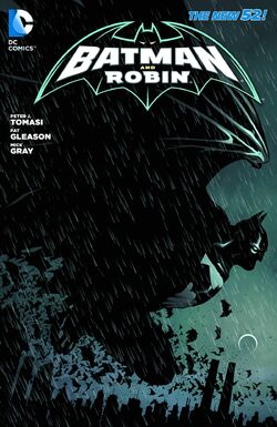 Cover for the Batman and Robin: Requiem for Damian Trade Paperback