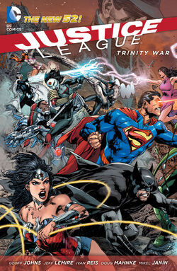 Cover for the Justice League: Trinity War Trade Paperback