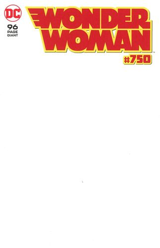 Blank Variant Cover