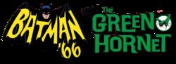 Batman '66 Meets The Green Hornet (2017) logo