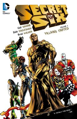 Cover for the Secret Six: Villains United Trade Paperback