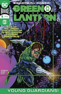 The Green Lantern Season Two Vol 1 1