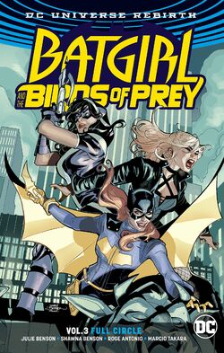 Cover for the Batgirl and the Birds of Prey: Full Circle Trade Paperback