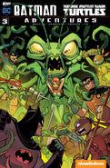 Batman Teenage Mutant Ninja Turtles Adventures Vol 1 3