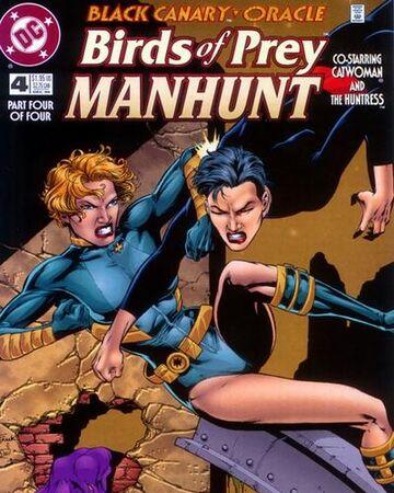 Birds Of Prey Manhunt Vol 1 4 Dc Database Fandom