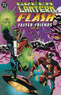 Green Lantern-Flash Faster Friends Vol 1 1