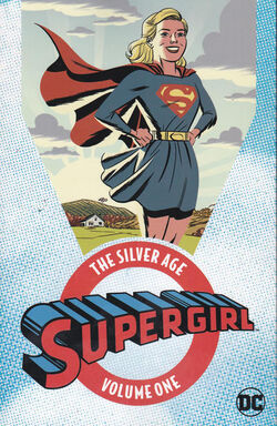 Cover for the Supergirl: The Silver Age Vol 1 Trade Paperback