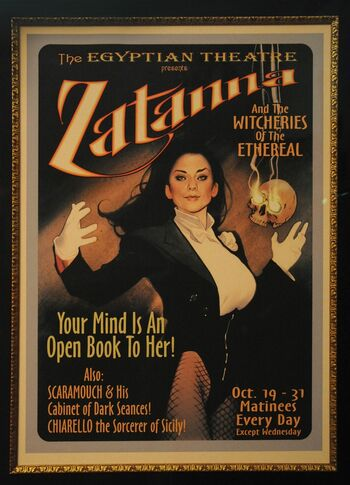 Full Zatanna Poster