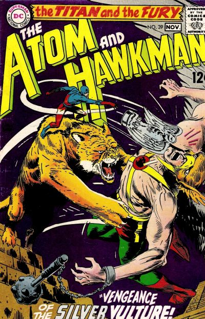 Image result for ATOM and HAWKMAN