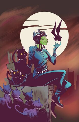 File:Catwoman Vol 4 45 Textless Monsters of the Month Variant.jpg
