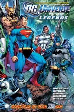 Cover for the DC Universe Online Legends: Vol 1 Trade Paperback