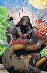 Grodd putting his Brain to use.