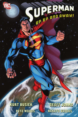 Cover for the Superman: Up, Up and Away! Trade Paperback