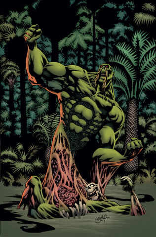 File:Convergence Swamp Thing Vol 1 1 Textless.jpg