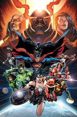 Cover for the Justice League: Darkseid War, Part 2 Trade Paperback