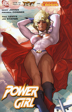 Cover for the Power Girl Trade Paperback