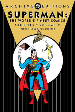 Cover for the Superman: The World's Finest Comics Archives Vol. 2 Trade Paperback