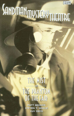 Cover for the Sandman Mystery Theatre: The Mist and the Phantom of the Fair Trade Paperback
