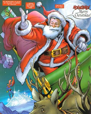 Santa Claus Dc Database Fandom