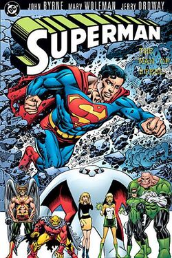 Cover for the Superman: The Man of Steel Vol. 3 Trade Paperback