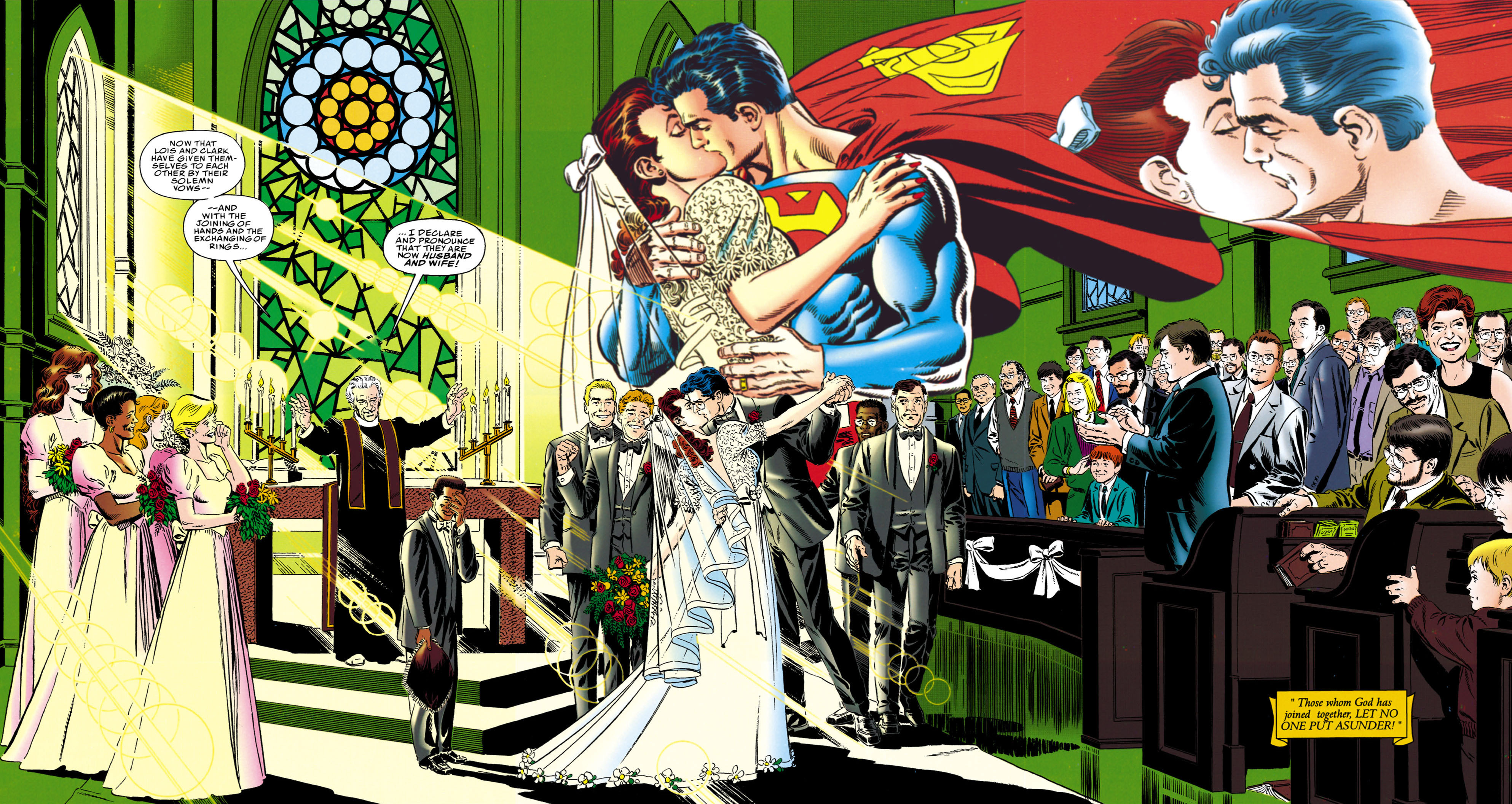 superman the wedding album vol 1 1 dc database fandom powered
