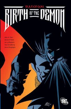 Cover for the Batman: Birth of the Demon Trade Paperback