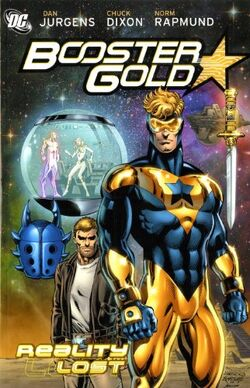 Cover for the Booster Gold: Reality Lost Trade Paperback