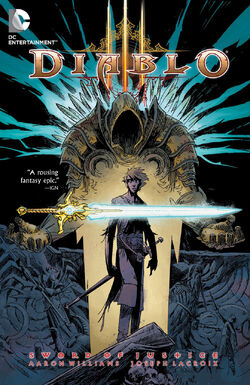 Cover for the Diablo: Sword of Justice Trade Paperback