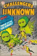 Challengers of the Unknown Vol 1 54