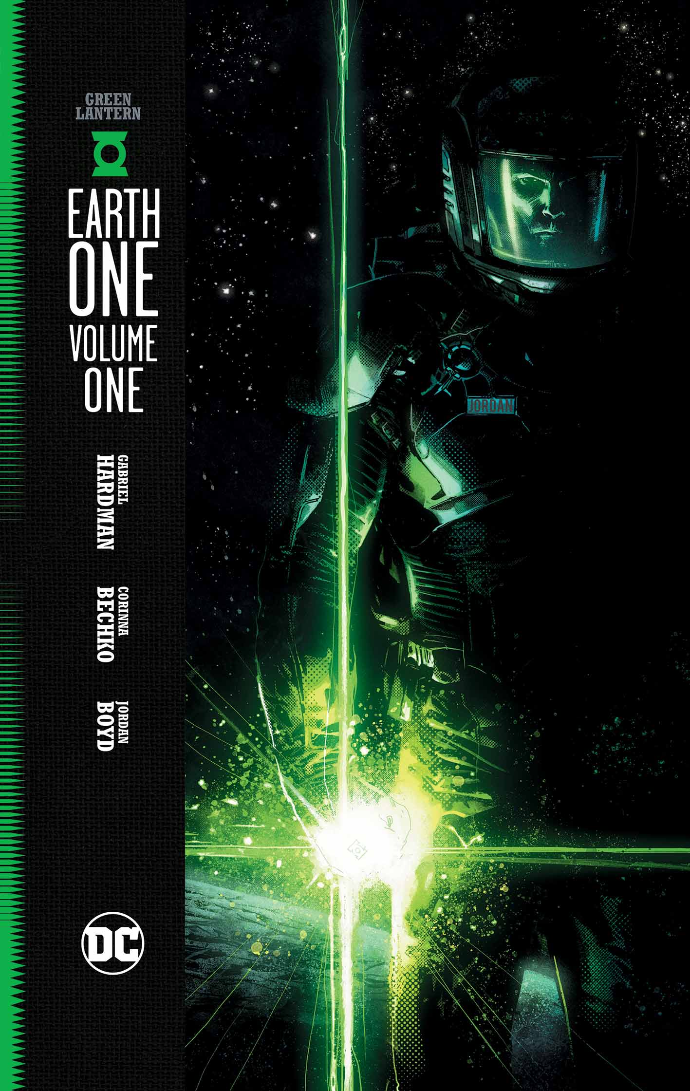 Image result for green lantern earth one book cover