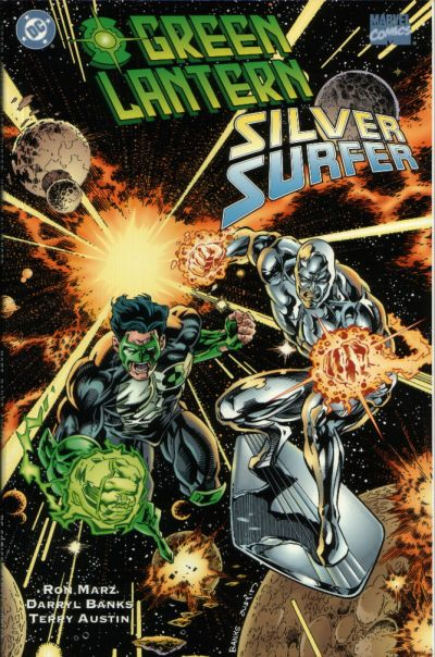 green lantern silver surfer  unholy alliances vol 1 1